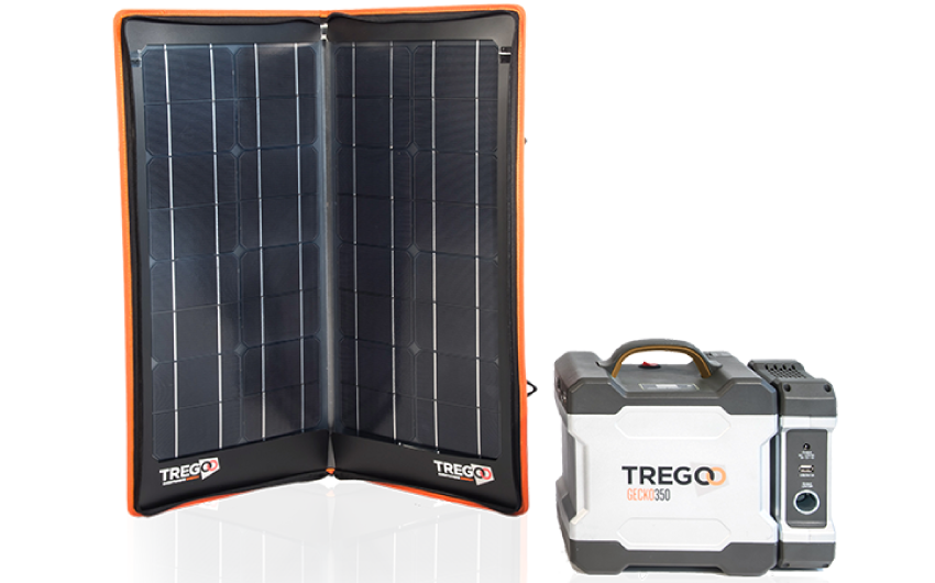 Kit Pannello Solare Con Accumulatore : Kit pannello solare hippy e accumulatore gecko