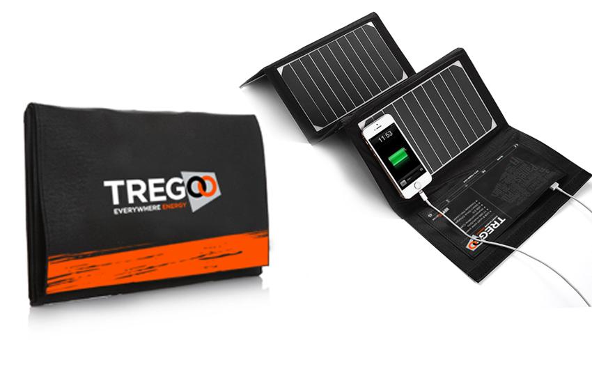 Pannello Solare Portatile Pieghevole : Hippy action pannello solare portatile