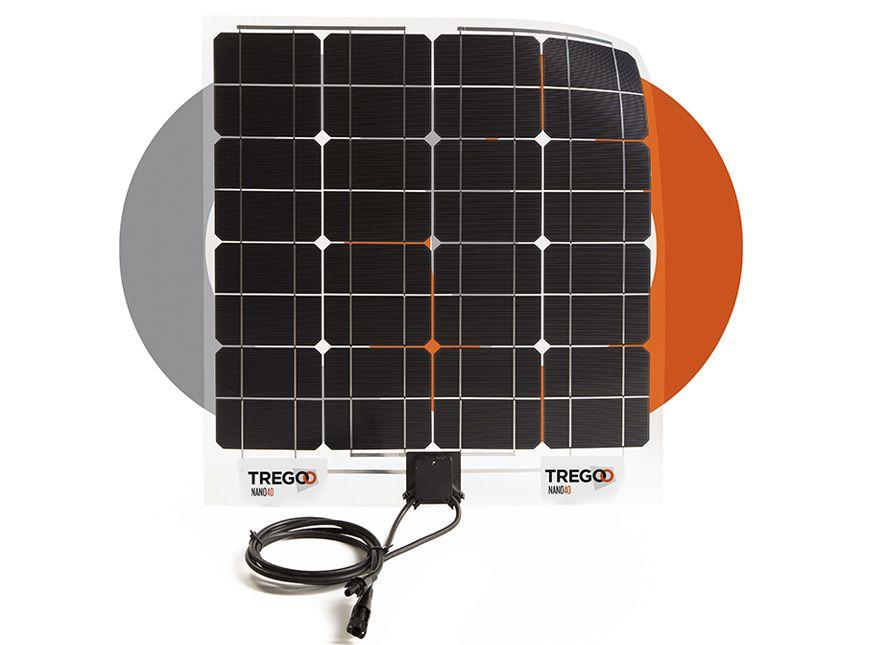 Pannello Solare Portatile Come Funziona : Tregoo nano pannello solare flessibile sottile e