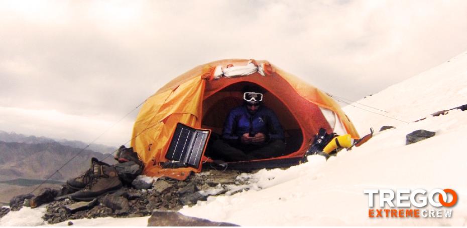 2 EXTREME - STEP 1 orange tent