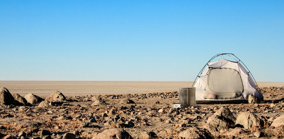Tent desert