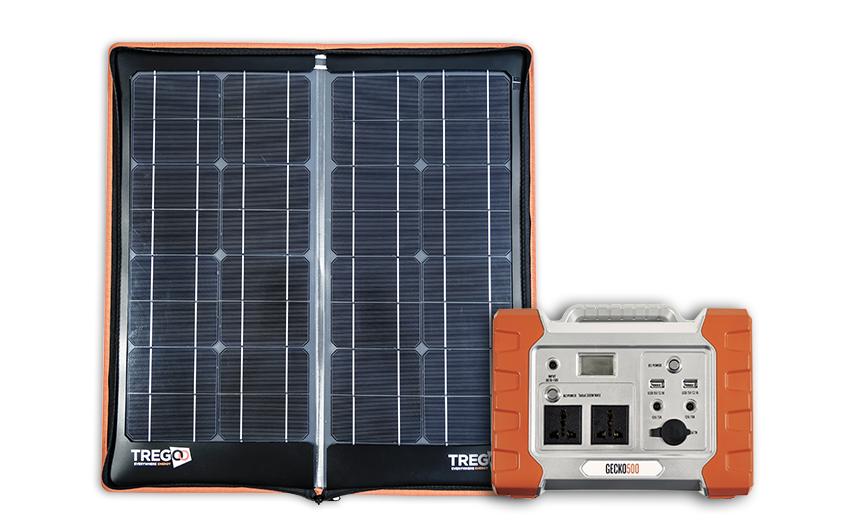 Kit solare hippy 40 extreme e accumulatore gecko 500 - Fotovoltaico portatile ...