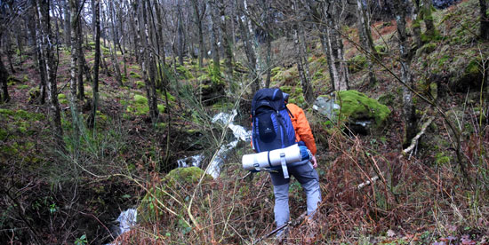 Gian Luca expedition in the Highlands