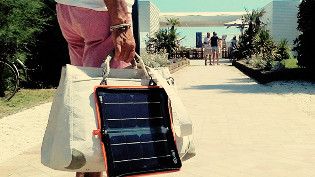 Solar bag RdV with Hippy 10