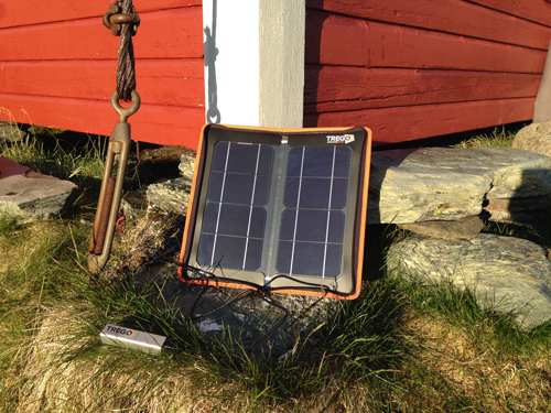 Solar Kit per Trekking in Lapponia
