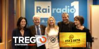 Tregoo nella trasmissione Eta Beta del canale RAI Radio 1