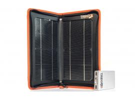 Il pannello solare Hippy 10 Extreme e l'accumulatore Lizard 50