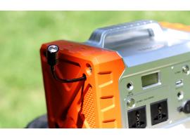 Il Gecko 500 è provvisto di una pratica luce al LED
