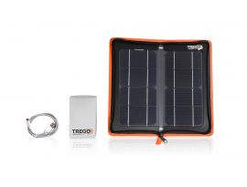 The kit Tregoo 10-50 Extreme is composed of HIPPY 10 and LIZARD 50 which can store up to 50Wh of solar energy