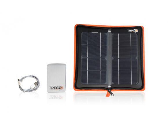 La Tregoo 10-50 Extreme è composta dall'HIPPY 10 e dal LIZARD 50 che può immagazzinare fino a 50Wh di energia solare